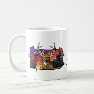 PA Big Game Animals Classic White Coffee Mug