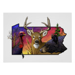 PA Big Game Animals Posters