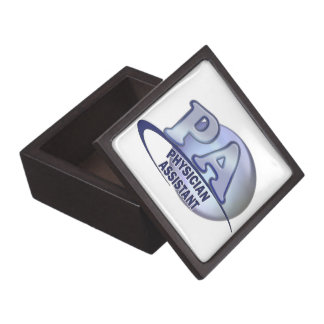 PA BLUE LOGO PHYSICIAN ASSISTANT JEWELRY BOX