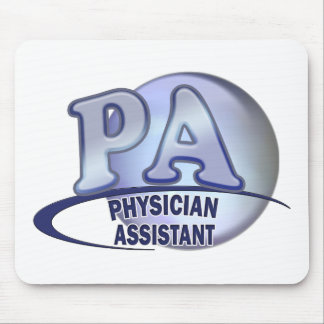 PA BLUE LOGO PHYSICIAN ASSISTANT MOUSE PAD