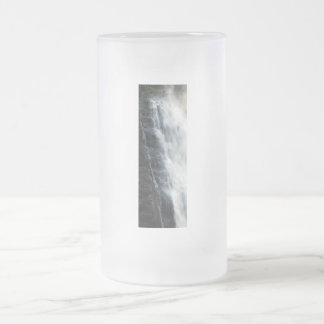 PA Blue Stone Frosted Glass Beer Mug