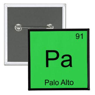 PA - Camiseta de la ciudad del símbolo del element Pins