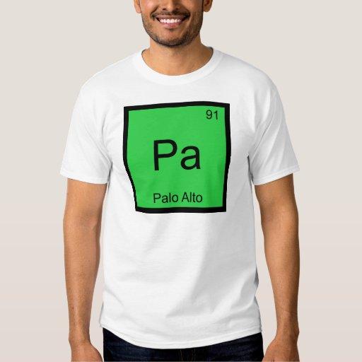 PA - Camiseta de la ciudad del símbolo del Poleras