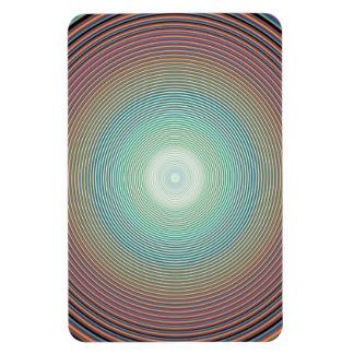PA colorido de DIGITAL del fondo 2222 del arco iri Imán