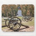 PA de Gettysburg de los cañones del campo de batal Alfombrilla De Ratones