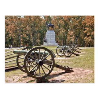 PA de Gettysburg de los cañones del campo de batal Tarjetas Postales