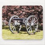 PA de Gettysburg del cañón del campo de batalla Tapetes De Raton