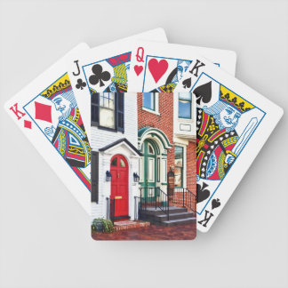 PA de Harrisburg - Dos puertas Baraja Cartas De Poker