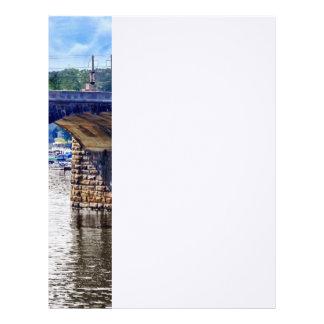 PA de Harrisburg - Puente de la calle de mercado Membrete