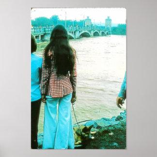 PA de la Wilkes-Barra de 1972 inundaciones. Poster Póster