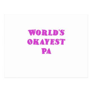 PA de Okayest de los mundos Postales