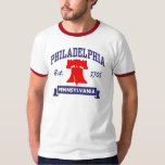 PA de Philadelphia Playera
