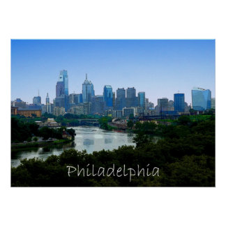 PA de Philadelphia Poster