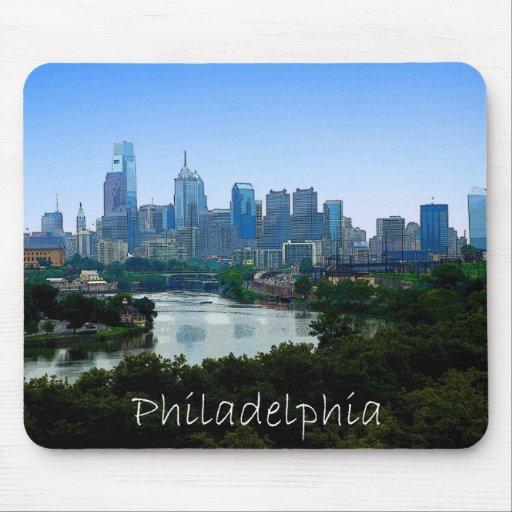 PA de Philadelphia Tapete De Ratones