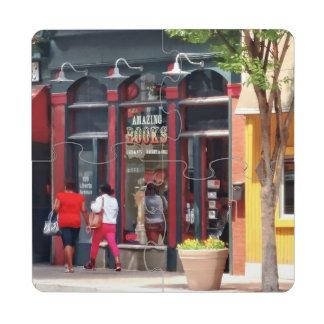 PA de Pittsburgh - El dar un paseo a lo largo de Posavasos De Puzzle