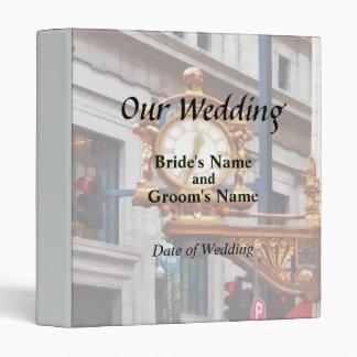 "PA de Pittsburgh - Encuéntreme bajo boda del reloj Carpeta 1"""