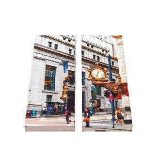 PA de Pittsburgh - Esquina de Smithfield y del Lienzo Envuelto Para Galerias