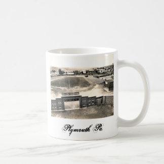 PA de Plymouth del campo de Huber Taza De Café