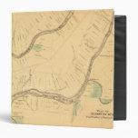 PA del río de Allegheny, mapa