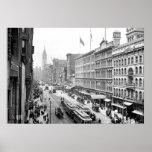 PA del St. Philadelphia de 1904 mercados. Impresió Posters