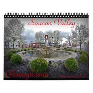 PA del valle de Saucon. Calendario