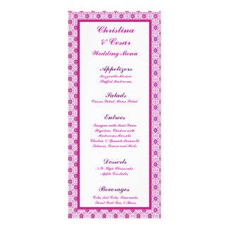 PA formal púrpura magenta de la estrella de la flo Diseño De Tarjeta Publicitaria