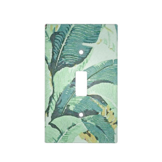 Pa Fronds Light Switch Cover