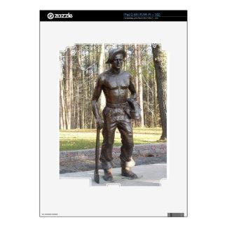 Pa Grand Canyon CCC Statue Closeup.JPG Skin For The iPad 2