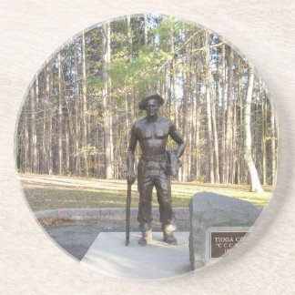 Pa Grand Canyon CCC Statue.JPG Drink Coaster