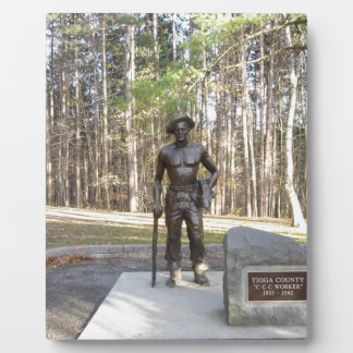 Pa Grand Canyon CCC Statue.JPG Plaque
