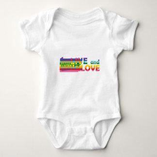 PA Live Let Love Baby Bodysuit