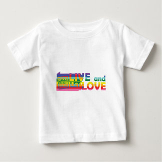 PA Live Let Love Baby T-Shirt