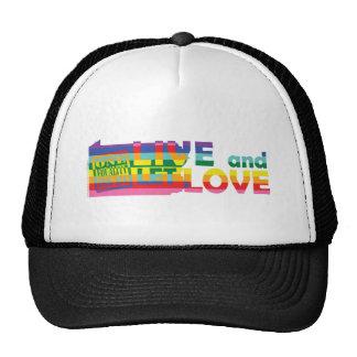 PA Live Let Love Mesh Hat