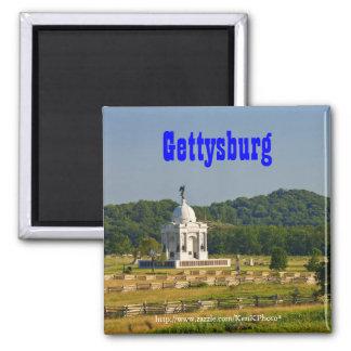 PA Memorial at Gettysburg Magnet