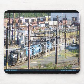 PA meridional de Harrisburg de la yarda del ferroc Alfombrillas De Raton