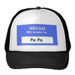 PA PA TRUCKER HATS