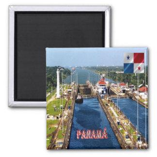 PA - Panama - Canal Locks Magnet
