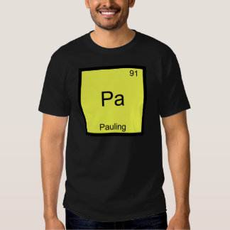 Pa - Pauling Funny Chemistry Element Symbol Tee