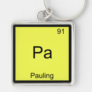 Pa - Pauling Funny Chemistry Element Symbol Tee Keychain