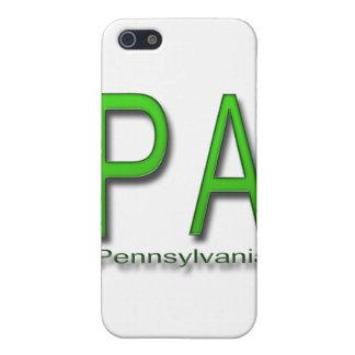 PA Pennsylvania  green iPhone SE/5/5s Case