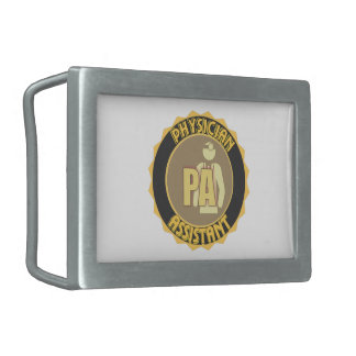 PA PHYSICIAN  ASSISTANT LOGO BELT BUCKLE