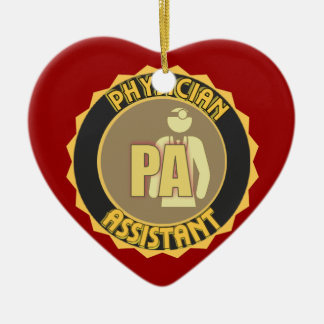 PA PHYSICIAN  ASSISTANT LOGO CERAMIC ORNAMENT