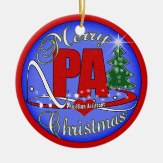 PA - PHYSICIAN ASSISTANT MERRY CHRISTMAS ORNAMENT