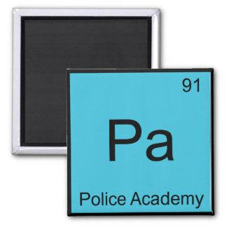 Pa - Police Academy Chemistry Element Symbol Tee Fridge Magnets