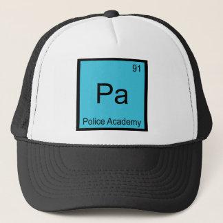 Pa - Police Academy Chemistry Element Symbol Tee Trucker Hat