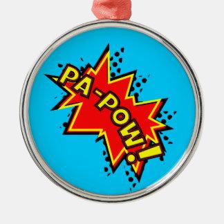 Pa-Pow! Christmas Tree Ornament