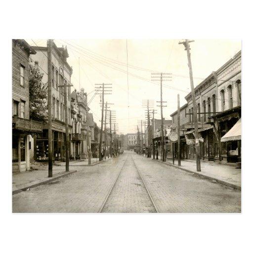 PA principal del St. Nanticoke. 1906 Postal