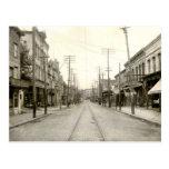 PA principal del St. Nanticoke. 1906 Tarjeta Postal