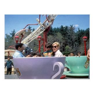 PA rocoso de Moosic del parque de atracciones de Postales