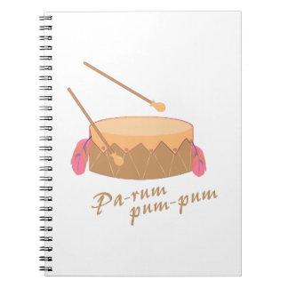 Pa-rum Pum Notebooks